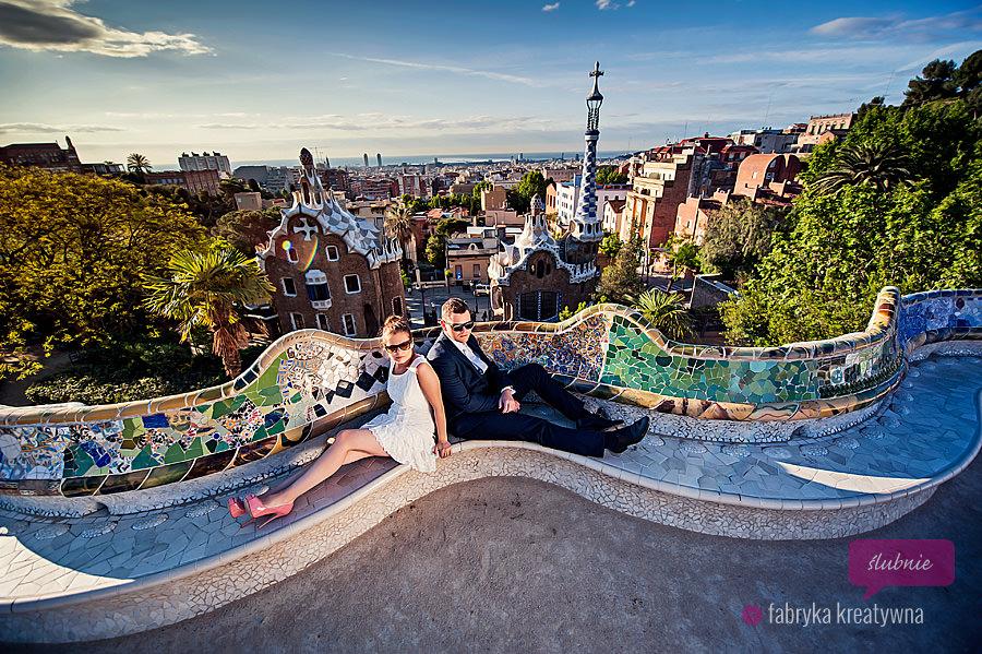 zdjęcia ślubne Bacelona