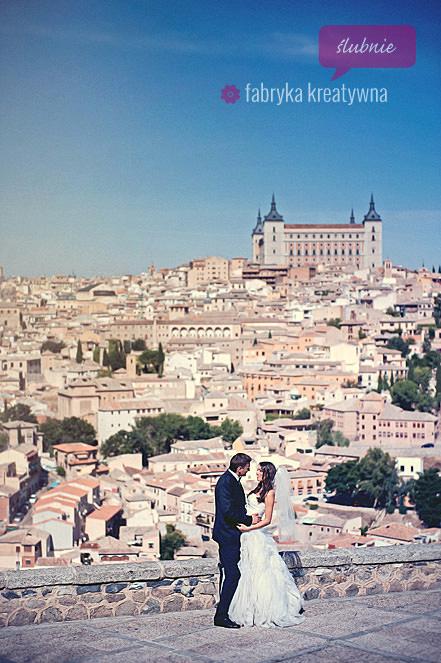 plener ślubny w Hiszpanii