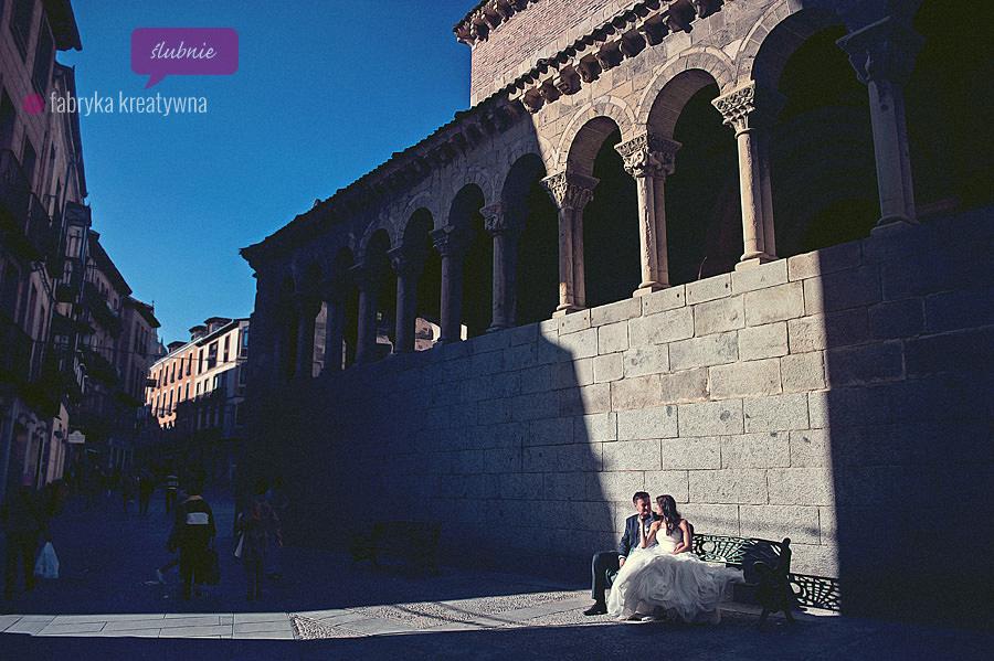 sesja ślubna w Hiszpanii