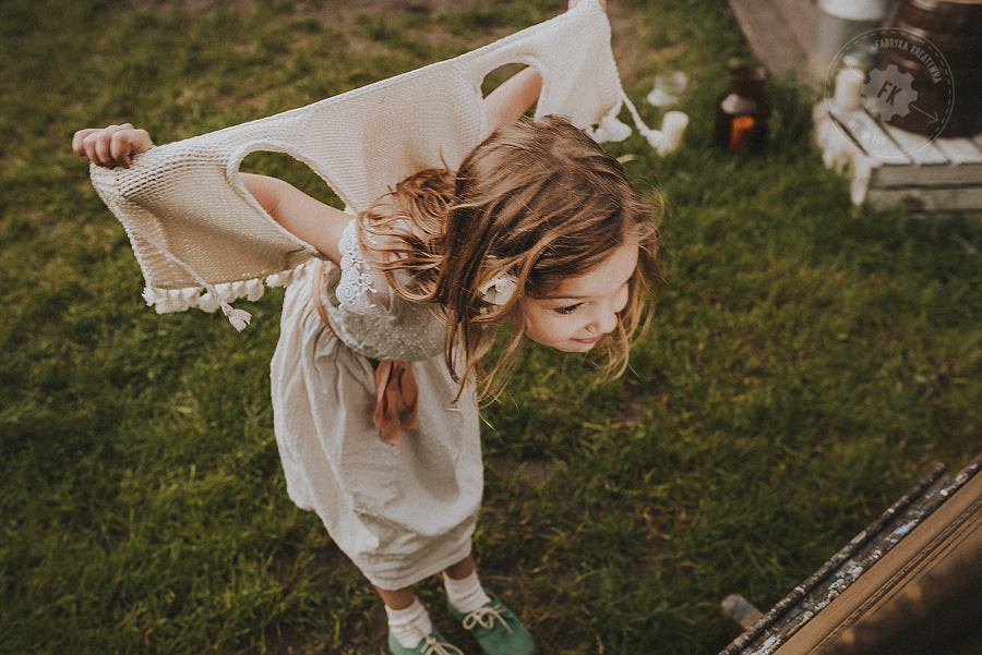 zdjęcia ślubne - wesele boho