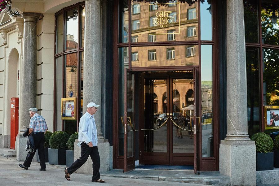 przygotowania do ślubu w Hotelu Bristol