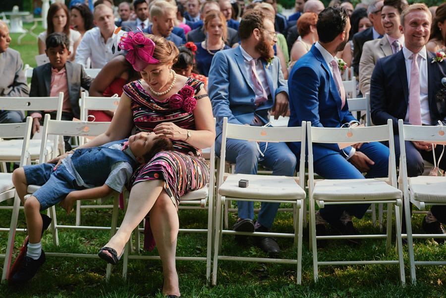 polsko - hinduski ślub w ogrodzie Endorfiny