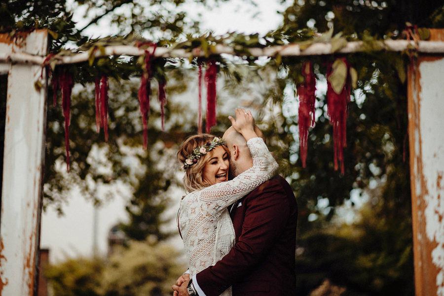 plenerowa ceremonia ślubna