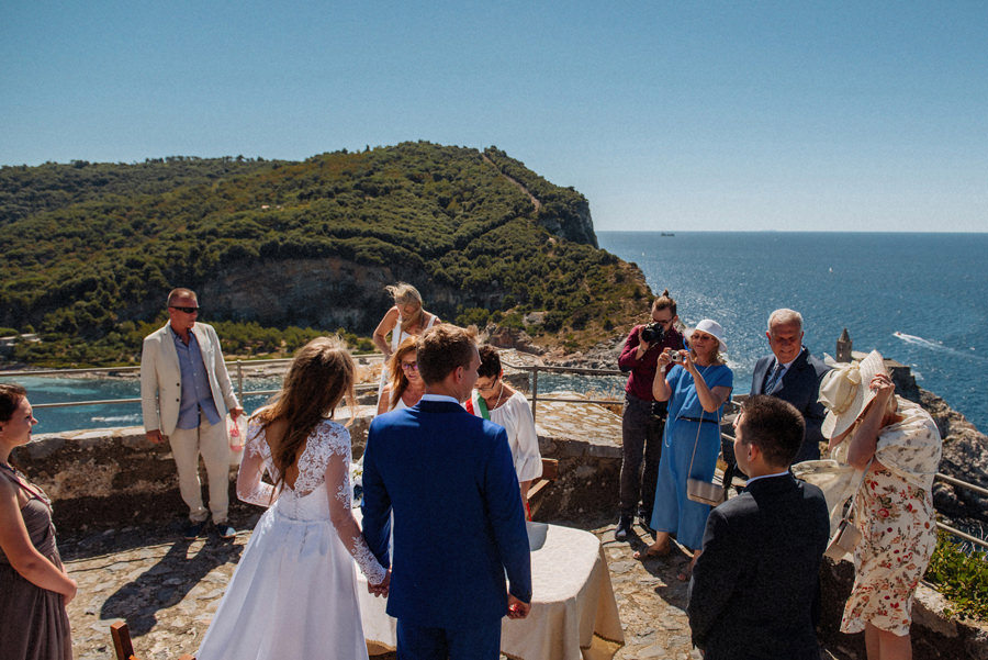 outdoor ceremony Italy
